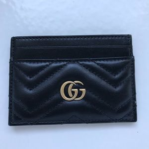 Gucci leather cardholder